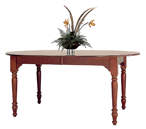 Cherry Oval Dining Table Made in the America