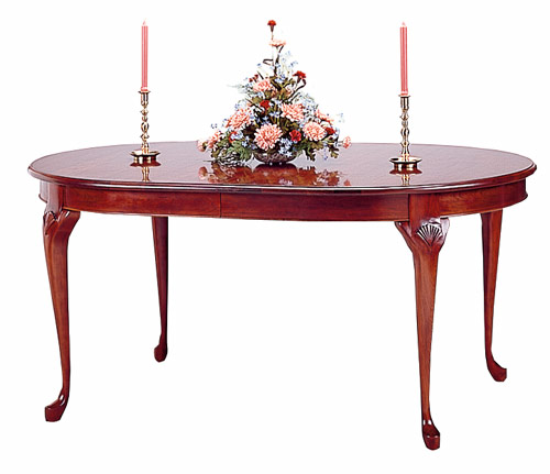 Cherry Oval Dining Table Bent Rim Made in the America