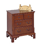 cherry nightstand four drawer